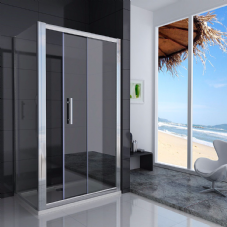 1100MM SLIDING SHOWER DOORS